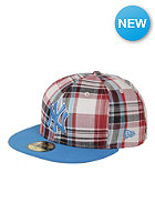 NEW ERA Plaid Pop New York Yankees Cap red/snapshot blue