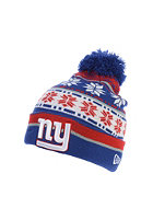 NEW ERA Pom Blizz 2 New York Giants OTC Beanie blue/red