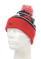 NEW ERA Pommy Star MLB New York Yankees Beanie black/scarlet/white