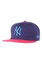 NEW ERA Pop Fresh NY Yankees Cap purple/bright rose/blue jewel