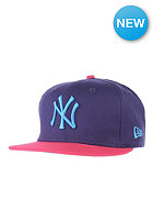NEW ERA Pop Fresh NY Yankees Cap purple/bright rose/blue jewel