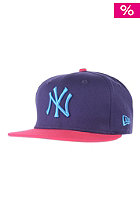 NEW ERA Pop Fresh NY Yankees purple/bright rose/blue jewel