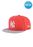 NEW ERA Pop Heather 950 New York Yankees hot red/graphite