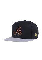 NEW ERA Pop Outline Atlanta Braves black/gray/hunter flame orange