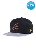 NEW ERA Pop Outline Atlanta Braves Snapback Cap black/gray/hunter flame orange