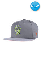 NEW ERA Pop Outline New York Yankees Snapback Cap storm gray/upright yellow
