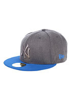 NEW ERA Pop Tonal 5950 New York Yankees Fitted Cap heather graphite/blue azur