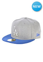 NEW ERA Pop Tonal 59Fifty Los Angeles Dodgers Fitted Cap heather grey/blue royal