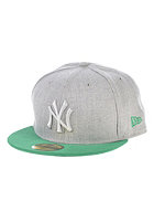 NEW ERA Pop Tonal 59Fifty New York Yankees Fitted Cap heather grey/grey