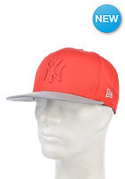 NEW ERA Pop Tonal 950 New York Yankees Snapback Cap hot red/grey