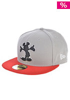 NEW ERA Pop Up Disney Mickey Mouse Fitted Cap grey/pink