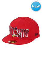 NEW ERA Saint Louis Cardinals Bevel Pitch Fitted Cap team