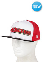 NEW ERA San Francisco 49ers Fresh Script Snapback Cap team