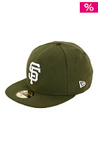 NEW ERA San Francisco Giants Leag Basic Cap olive/white