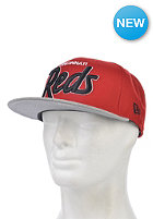 NEW ERA Script Heather Cincinnati Reds Team Snapback Cap team color