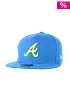 NEW ERA Seas Contrast Atlanta Braves song bird blue/upright yellow