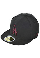 NEW ERA Seasonal Basic MLB LA Dodgers Cap black/maroon