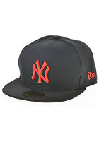 NEW ERA Seasonal Basic MLB New York Yankees Fitted Cap black/hot red
