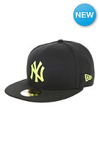 NEW ERA Seasonal Basic New York Yankees Fitted Cap black/yellow