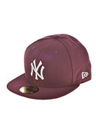 NEW ERA Seasonal Contrast MLB NY Yankees Cap maroon/grey
