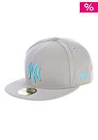 NEW ERA Seasonal Contrast New York Yankees Fitted Cap gray/vice blue