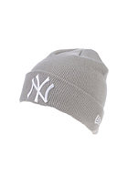 NEW ERA Seasonal Cuff NY Yankees Beanie grey