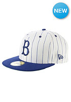 NEW ERA Side Striper Brooklyn Dodgers Fitted Cap white/primary