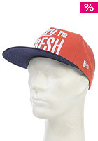 Sorry Im Fresh 950 Glaze Snapback Cap red/navy
