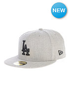 NEW ERA Streamliner LA Dodgers Fitted Cap heather grey/black