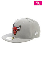 NEW ERA Team Basic Chicago Bulls Cap grey