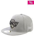 Team Basic Los Angeles Kings Fitted Cap grey