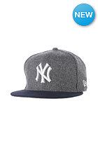 NEW ERA Team Melton NY Yankees Snapback Cap graphite
