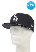 NEW ERA Team Pad LA Dodgers Fitted Cap black/white