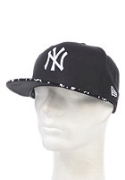 NEW ERA Team Pad New York Yankees Fitted Cap black/white