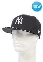 NEW ERA Team Pad New York Yankees Fitted Cap black/white