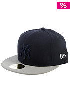 Team Tonal New York Yankees Fitted Cap team colours