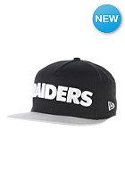 NEW ERA Team Word Oakland Raiders Snapback Cap team color