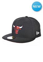 NEW ERA Teametallic Chicago Bulls OTC Fitted Cap black