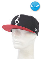 NEW ERA The Clef New Era Fitted Cap black/scarlet