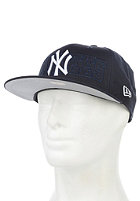 NEW ERA Tonal Word 9Fifty New York Yankees Team Snapback Cap team color