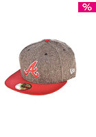 NEW ERA Tweed Crest Atlanta Braves Caps team colour