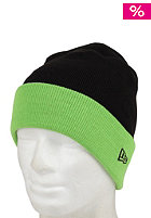 NEW ERA Two Bar 2 Cap bright black/lime