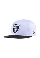 NEW ERA Two Color Team Oakland Raiders white/black