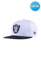 NEW ERA Two Color Team Oakland Raiders white/black