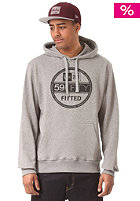 NEW ERA Visor Hooded Sweat grey