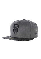 NEW ERA Visor Tropic San Francisco Giants Fitted Cap heather graphite/black