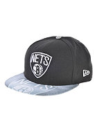 NEW ERA Vizasketch Brooklyn Nets Team Fitted Cap black