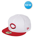 NEW ERA White Pop Team Cincinati Reds Cap white/team