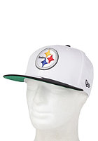 NEW ERA White Top Pittsburgh Steelers Snapback Cap white/yellow