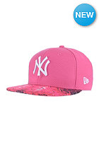 NEW ERA Womens Diamond Print New York Yankees pink